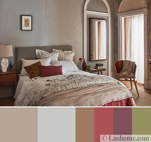 Gorgeous Interior Color Schemes, Fall Botanical Collection ...