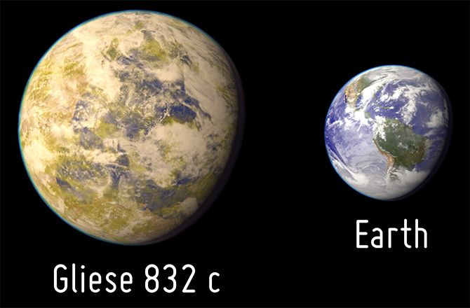 Computer analysis of the wobble of a nearby star may have turned up evidence for a small, Earth-sized world -- but don't get too excited about it being habitable.