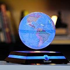 Soditer Levitation Globe Led Light Globes Luminous Globes Floating Globe Globe With Maglev Globe Levitating Globe Led Globe Lights Floating Globe Levitation