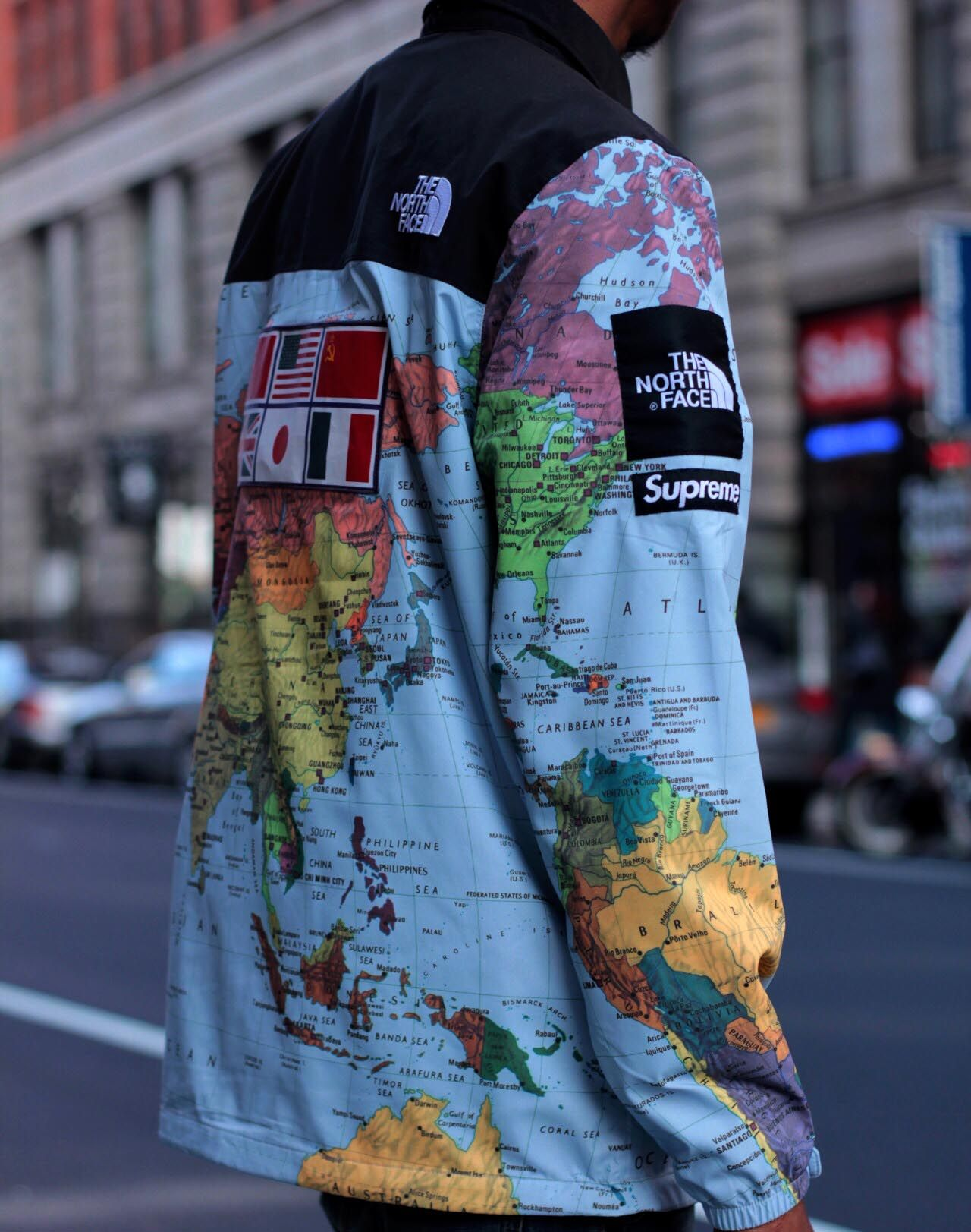 Supreme X The North Face Jacket Waterproof Expedition Coaches Jacket Supreme Clothing Mens Outfits Fashion