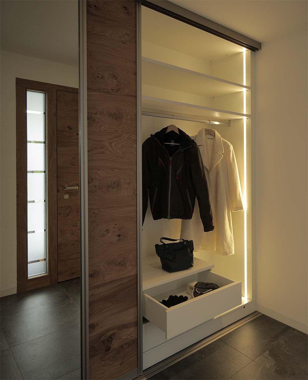 Garderoben Interessant Einbauschrank Garderobe Kosten Design