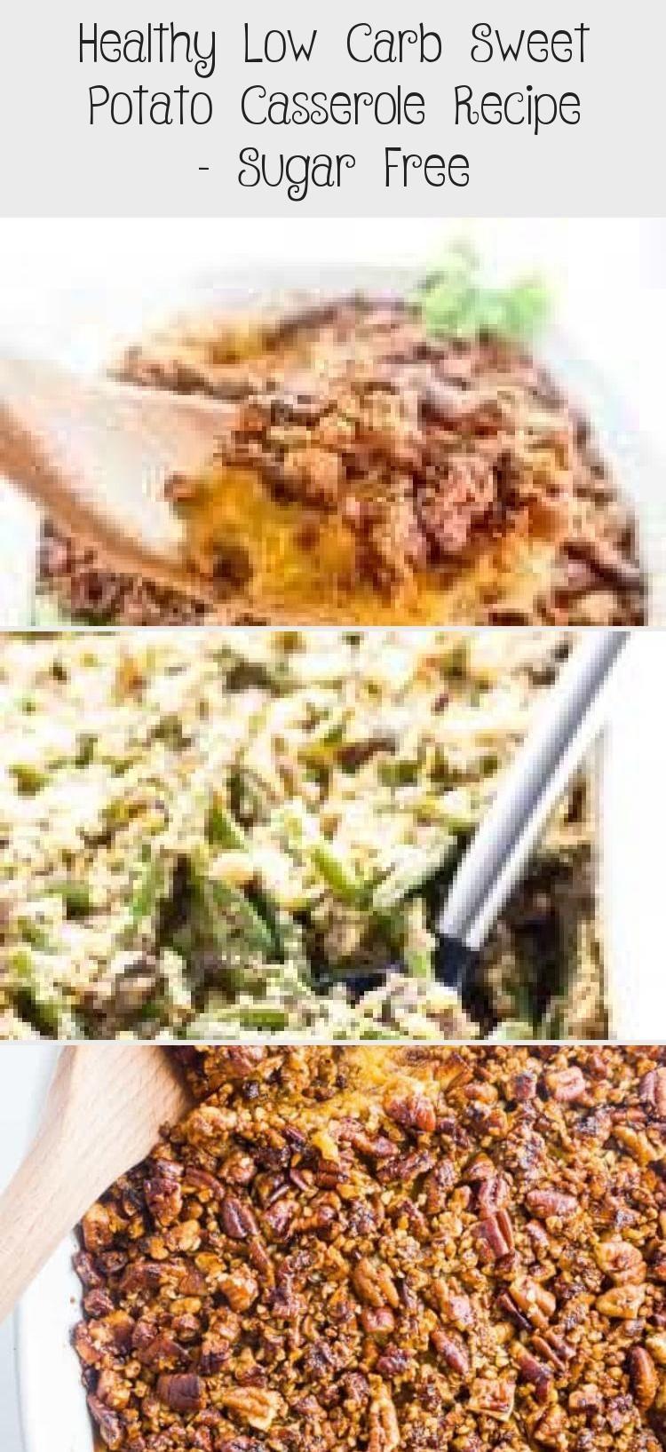 Healthy Low Carb Sweet Potato Casserole Recipe Sugar Free Low