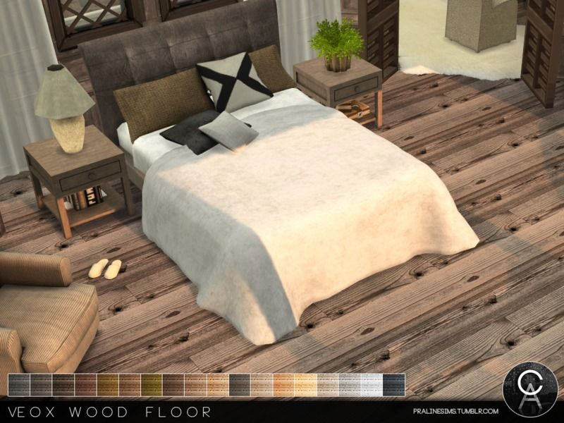 Floors: VEOX Wood Floor By Pralinesims From The Sims Resource