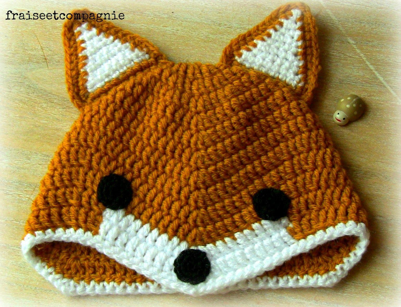comment tricoter un renard   Crochet   petits accessoires ... 7aa302826f6