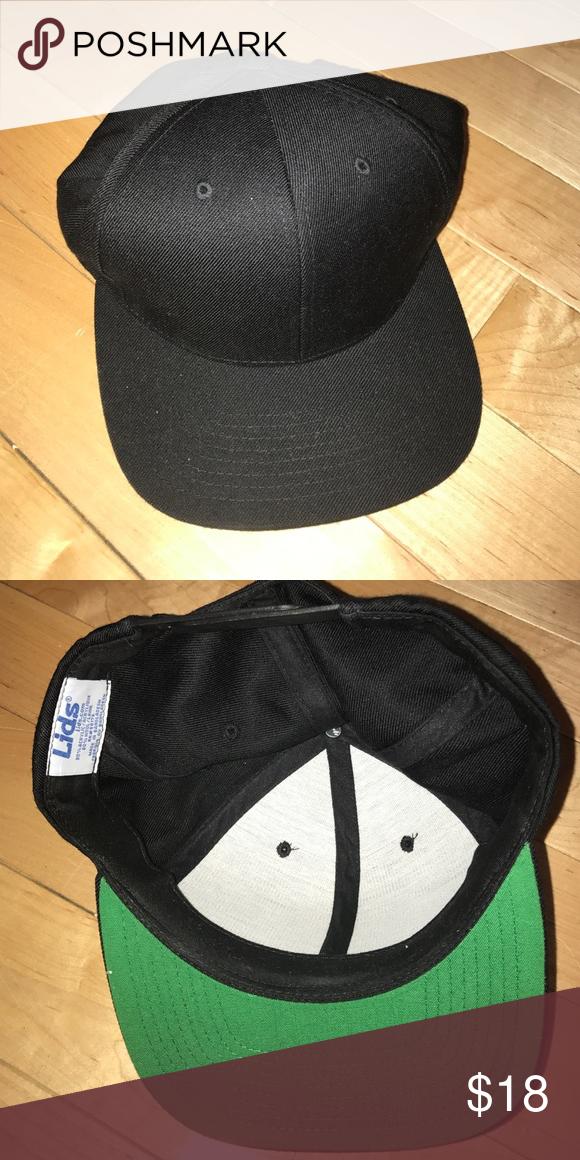Baseball hat Plain Black Baseball Cap lids Accessories Hats  e8d26e8db66