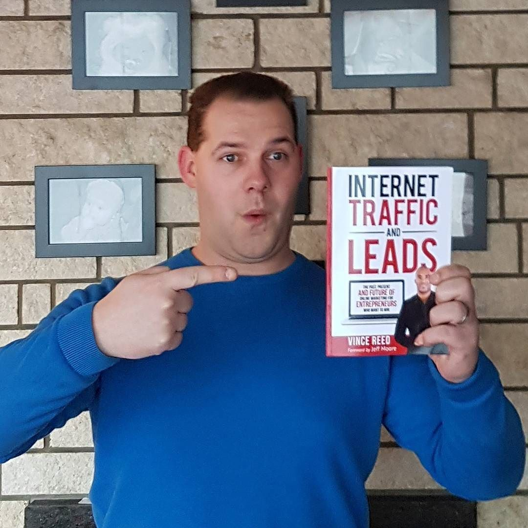 Looks what i found in the mail today. Brand new book of Vince Reed - Internet Traffic & Leads Get yours at => http://ift.tt/2jBup6A <= . Follow @vincereedlive . . . . #vincereed #internet #traffic #leads #leadgeneration #internetmarketing #marketing #onlinemarketing #entrepreneur #book #books #newbook #internettraffic #newschool #readingbook  #education #educationalbooks #educationalbook #howto #bestreads #booklovers #brandnew #affiliatemarketing #leadgen #strategy