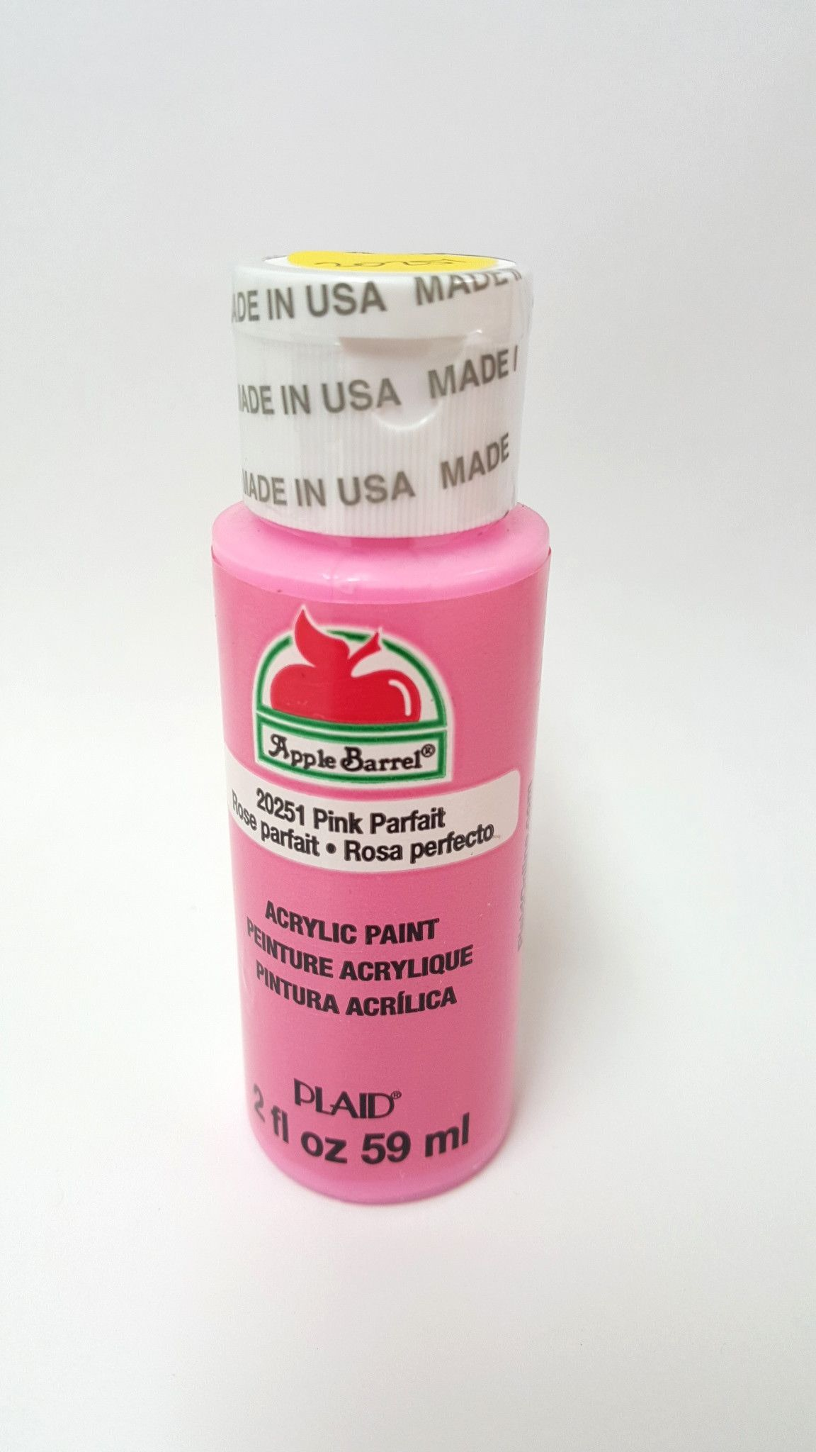 Apple Barrel 20251 Pink Parfait Acrylic Paint 2 fl oz