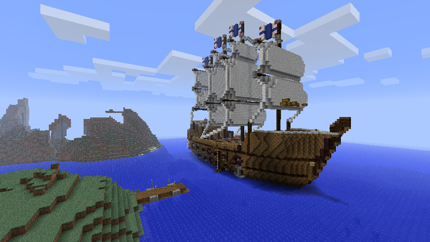 Pirate Island Minecraft Schematics - Product Wiring Diagrams • on small minecraft ship plans, small minecraft yacht tutorial, small minecraft village, small boats mod minecraft,