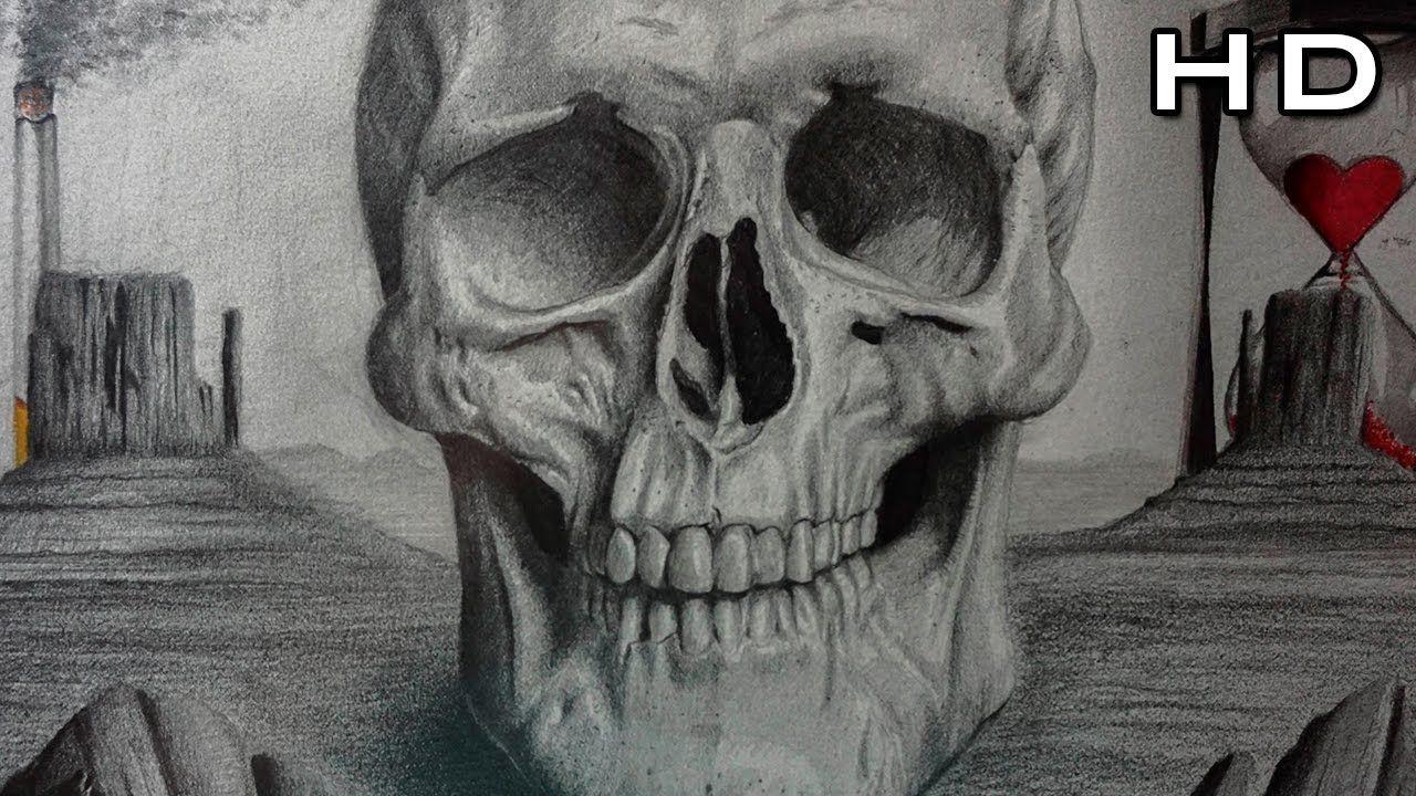 Como Dibujar Una Calavera Realista A Lapiz Paso A Paso Craneo Calaveras A Lapiz Dibujo De Calavera Dibujos Sugar Skull