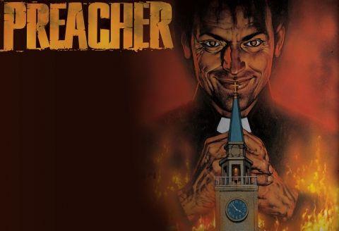 La série Preacher développée pour la chaîne AMC