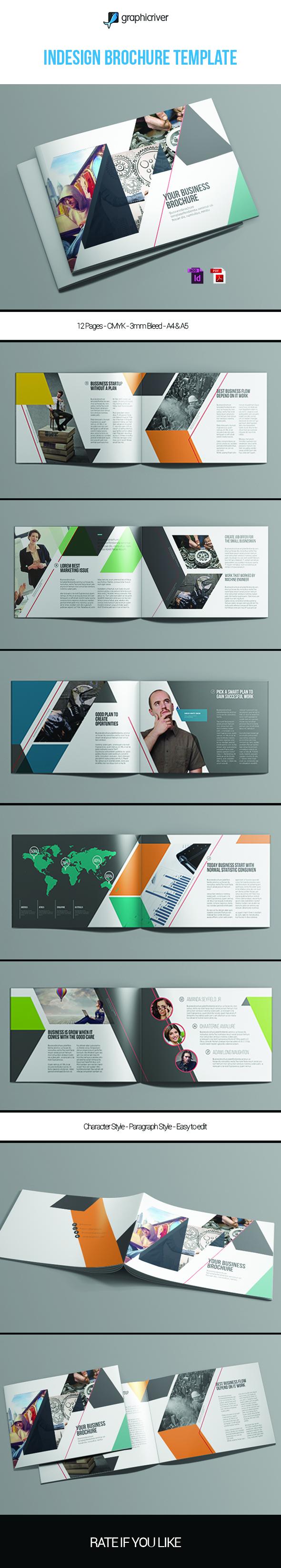 Indesign Brochure Template Vol.1   Pinterest   Diseño editorial ...