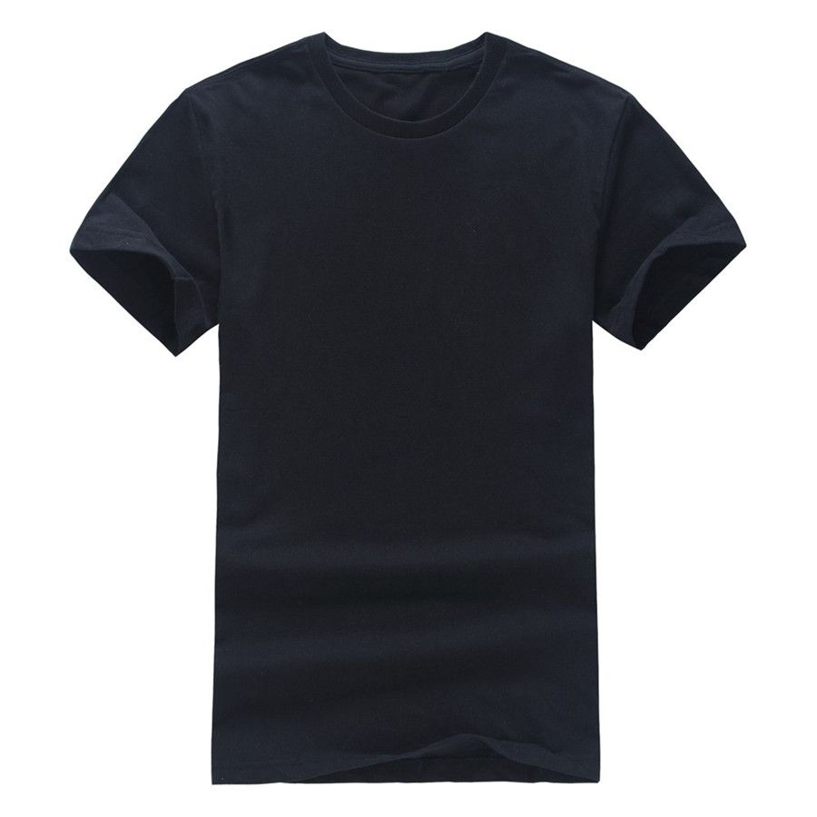 Click To Buy Fashion Mens T Shirts Custom Design Solid Color T