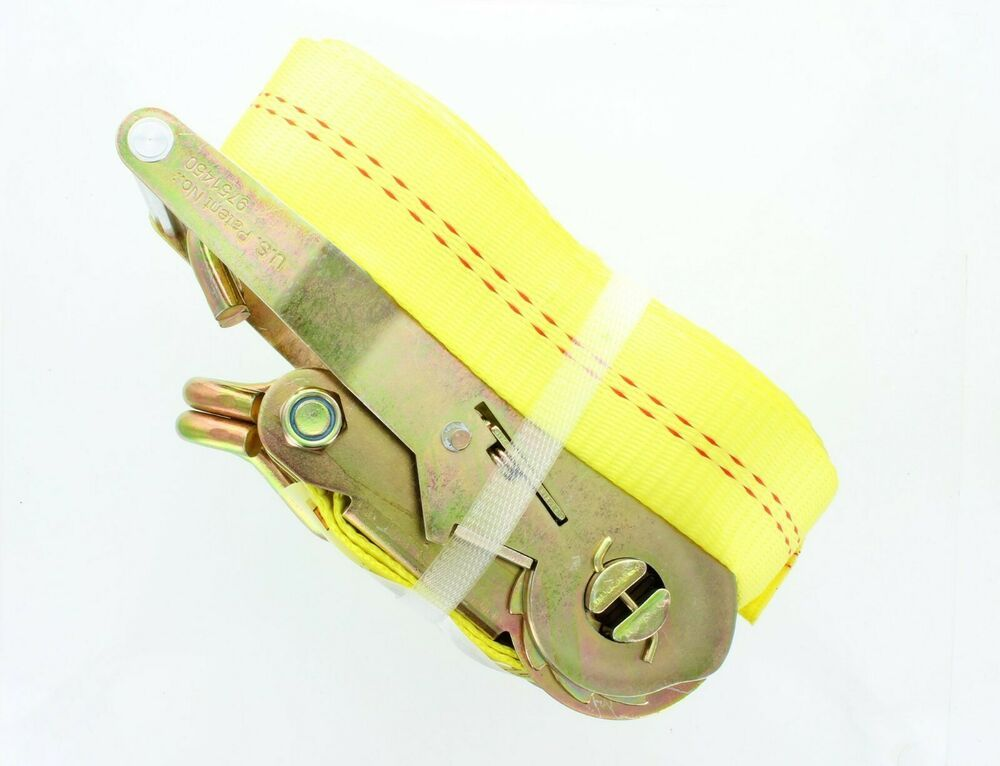 Ratchet Tie Down Straps Double J Hooks 2 In 30 Ft 50mm 9m 4 Pack Tie Down Straps Ratchet Straps