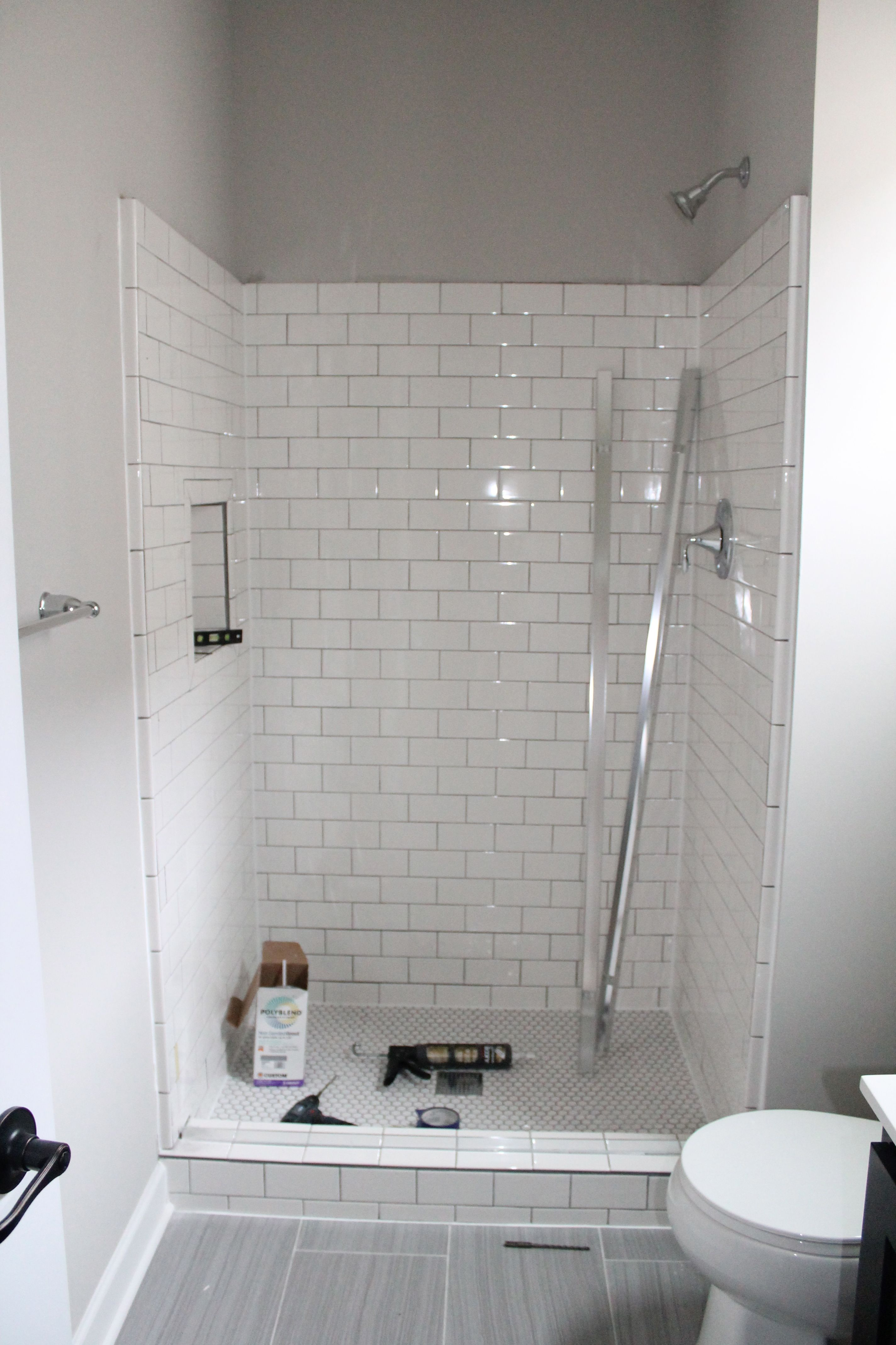 White Subway Tile, Shower Design Inspiration | construction2style ...