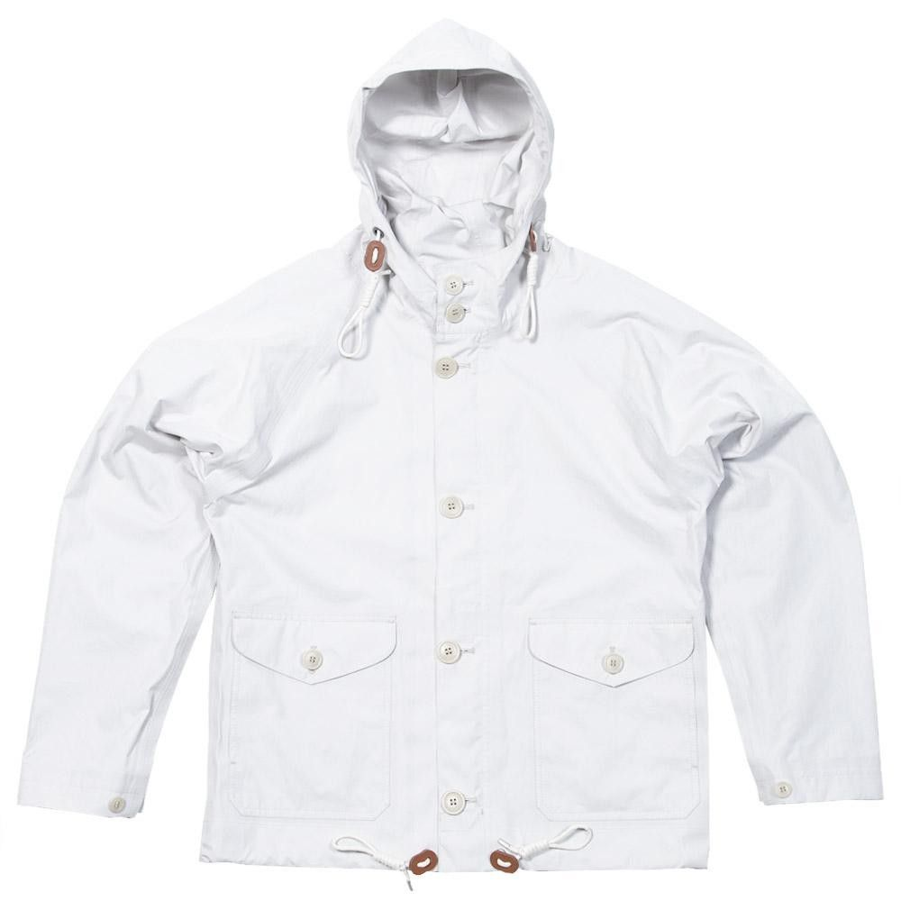 Military snow-smock style Ventile jacket