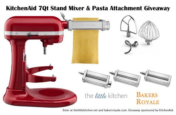 Kitchenaid Giveaway Kitchen Aid Kitchen Aid Mixer Kitchen Aid Pasta Attachment