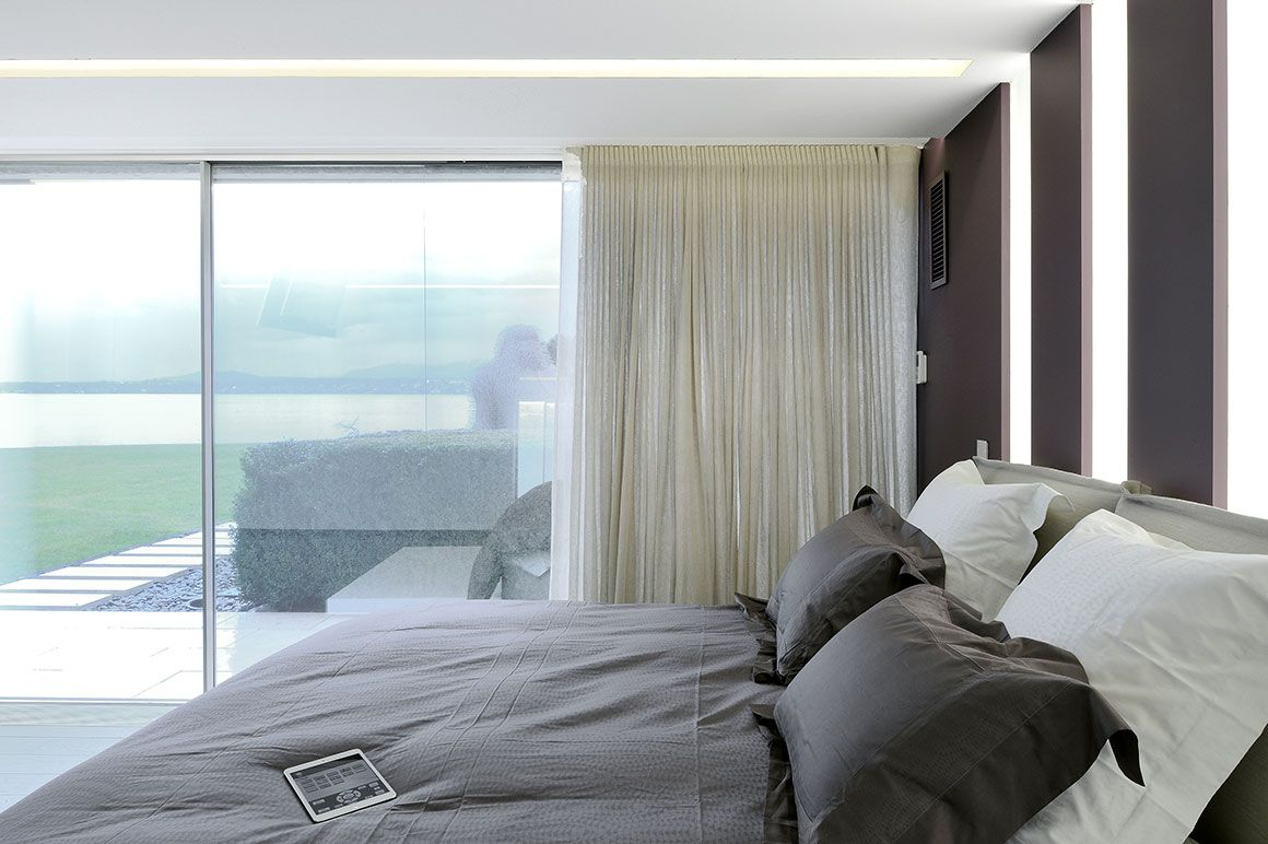 Chambre Lumineuse Luxe Avec Baie Vitree Architecte Interieur