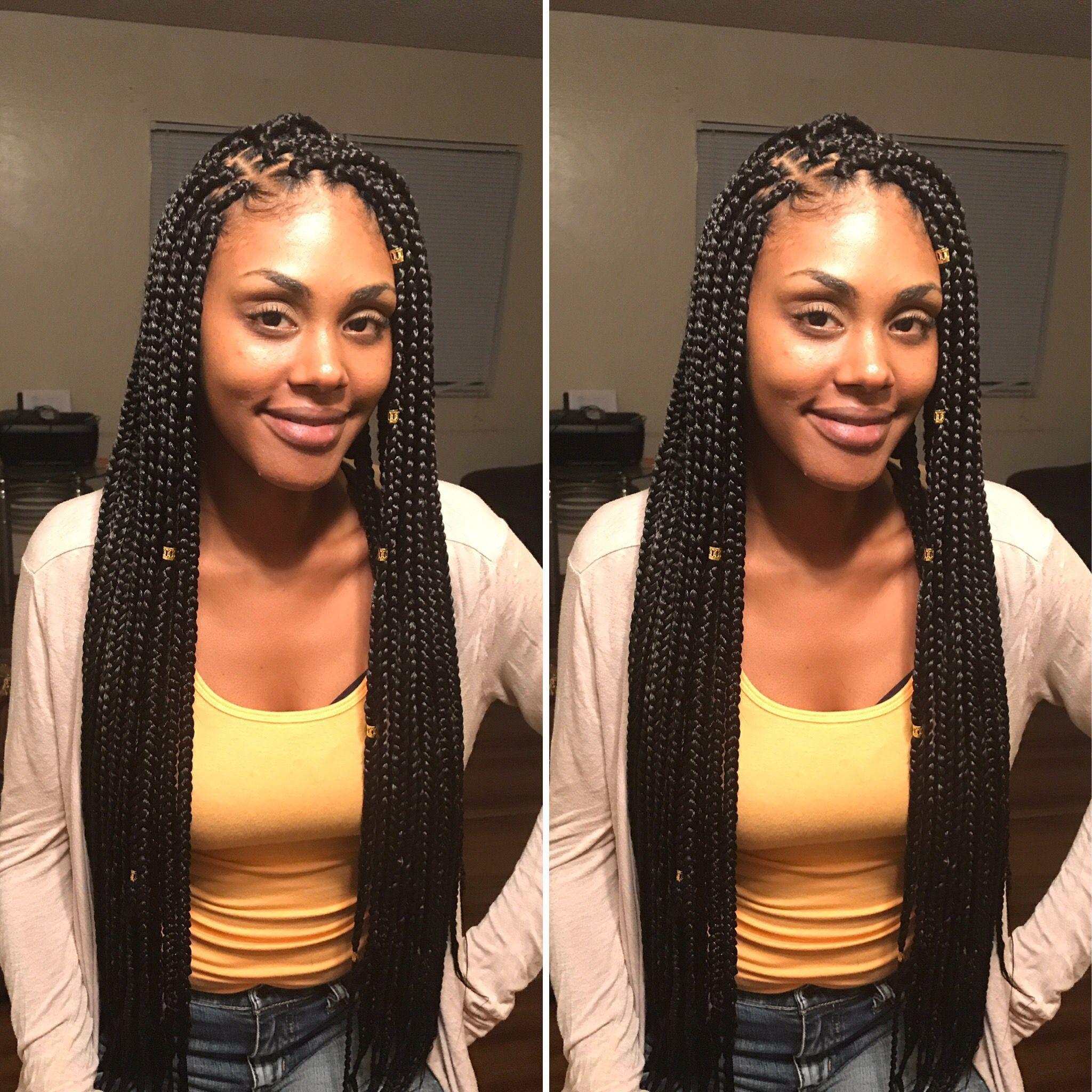 box braids. extra long. #boxbraids #beautifulghanabraids