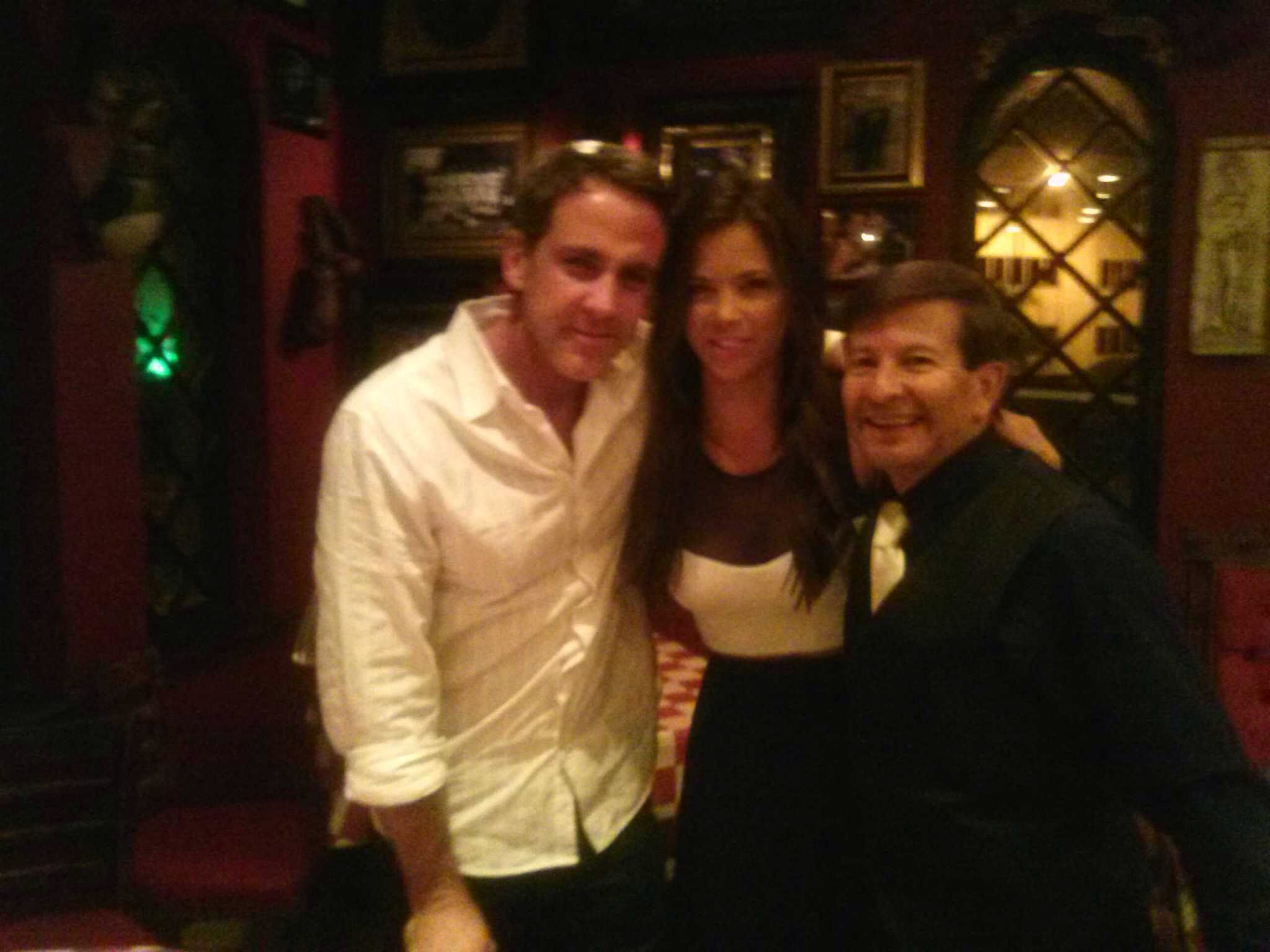 Carlos Ponce at Randazzo's Little Italy Restaurant