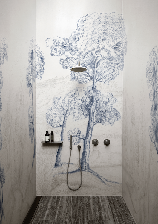Pattern Inner Forest Wet System Is The Waterproof Decorative Membrane With Very Unique Features Wallpaper Designs For Walls Contemporary Wallpaper Wall Deco