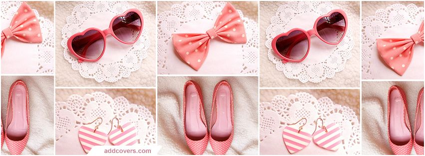 Pink Girly Facebook Covers | Fashion collage, Bow fashion ...