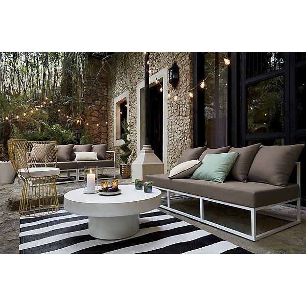 Shop Black And White Outdoor Rug 5 39 X8 39 Chic Black And
