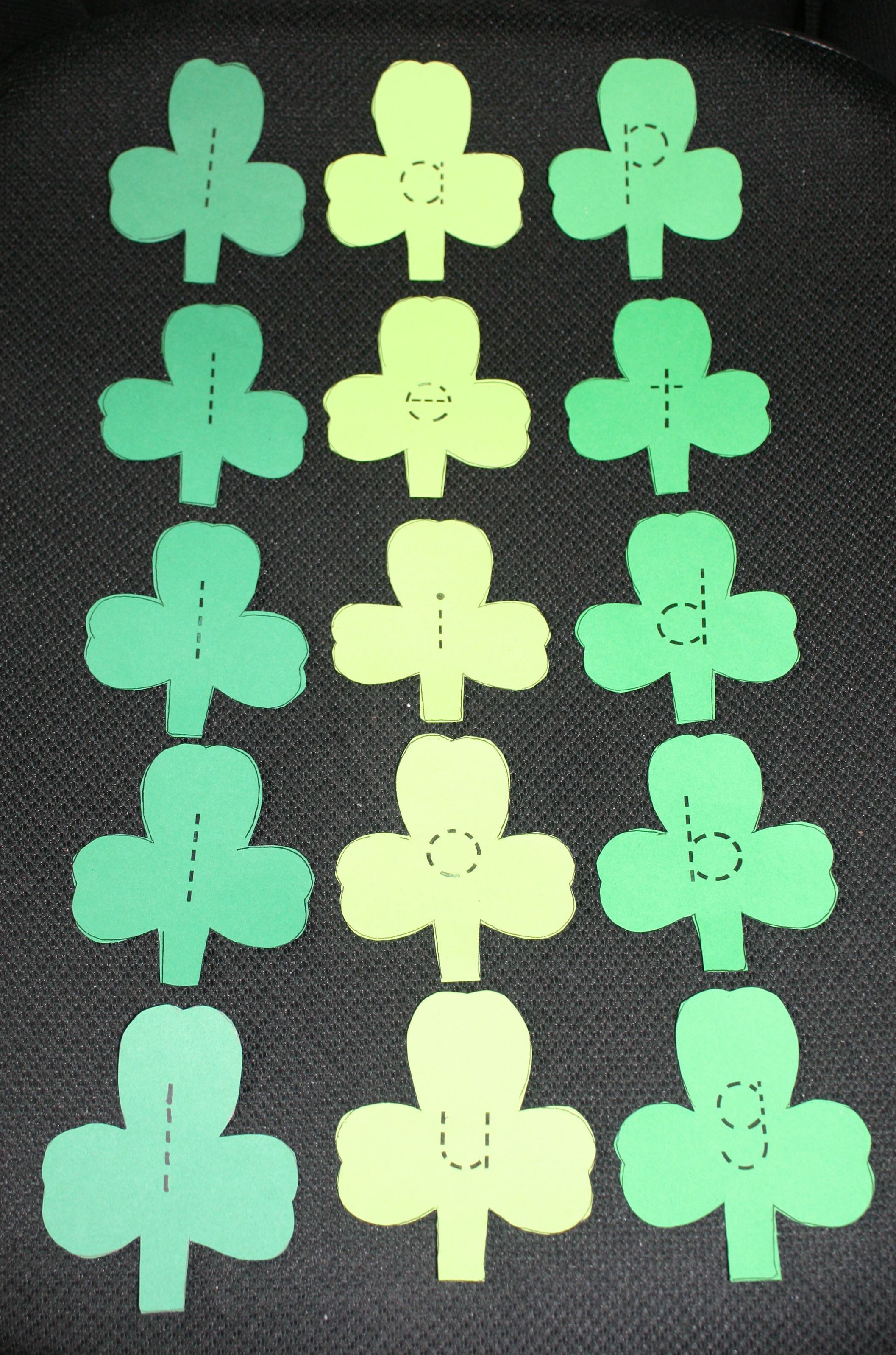Cvc Shamrock Word Game