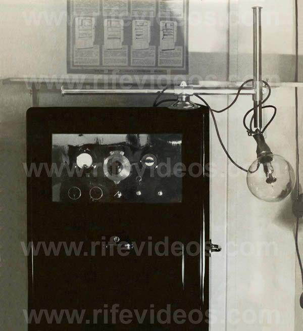 1938 Beam Ray Rife Machine Healing Frequencies Frequencies Circuit Design