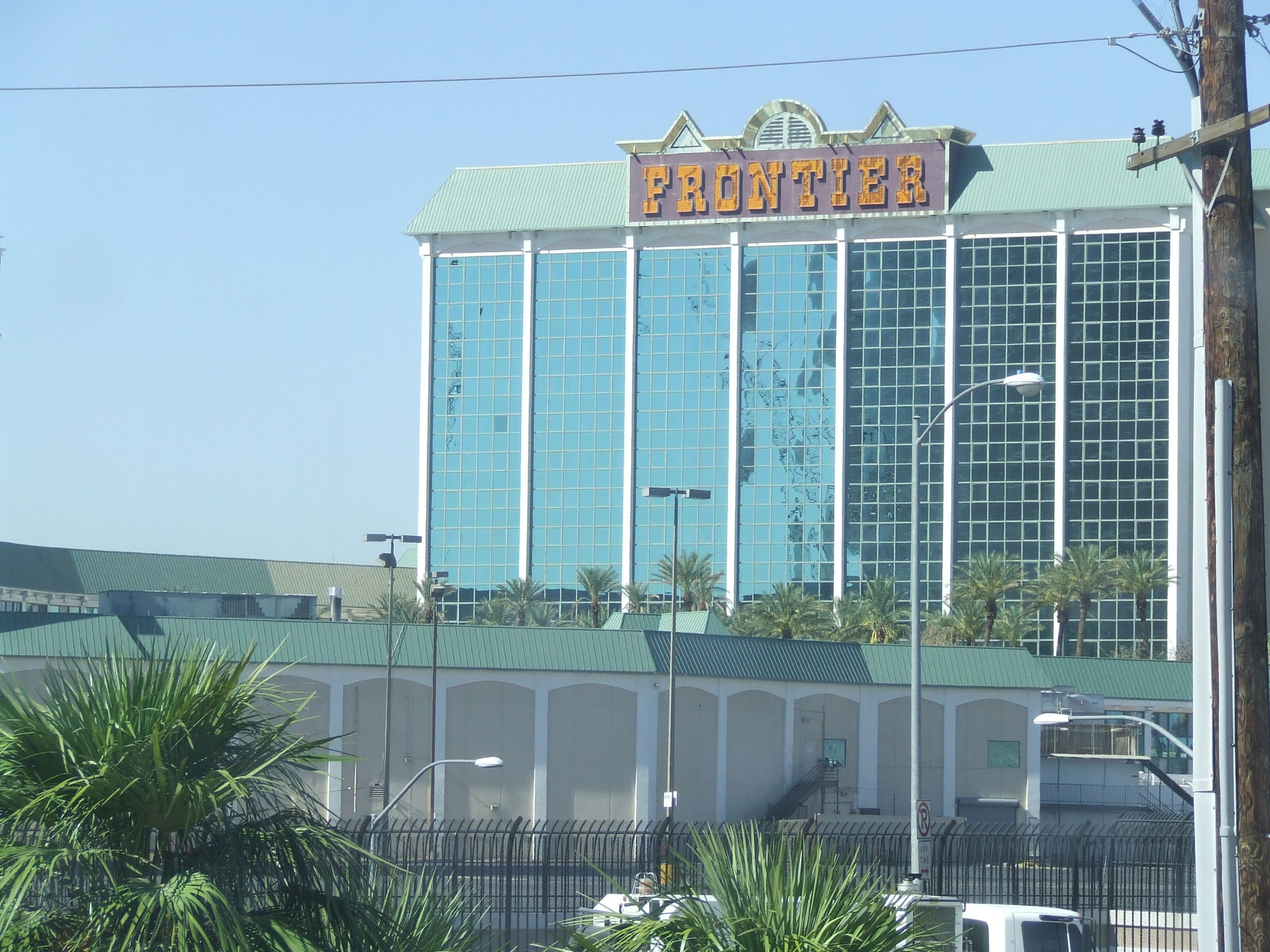 The New Frontier resort was demolished not long after I took this and other photos. Elvis performed there in 1956.