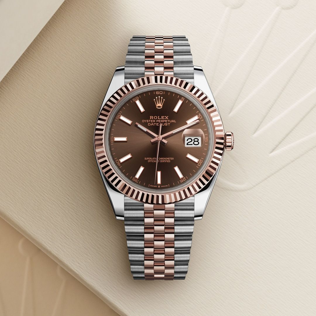 Rolex Datejust 41 With Chocolate Dial Rolex Watches For Men Rolex Watches Luxury Watches For Men