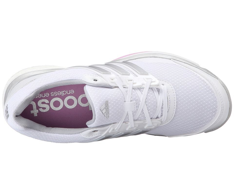san francisco 83fcc 5e212 adidas Golf Adipower S Boost II Women s Golf Shoes Ftwr White Matte  Silver Wild Orchid-Tmag