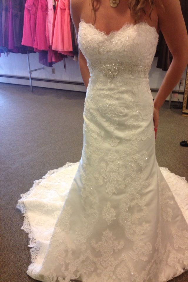Casablanca 2072. Tried on at Pensacola Bridal Suite. One in the ...