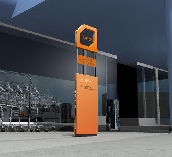 Merveilleux Signage Panel Style · Wayfinding SignageSignage DesignOutdoor ...