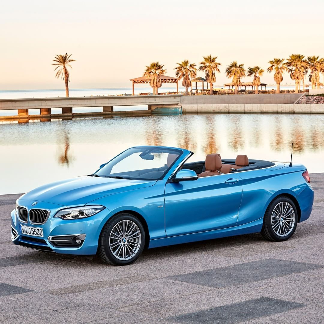 Bmw F23 2 Series Cabrio In Seaside Blue Bmw 2 Convertible