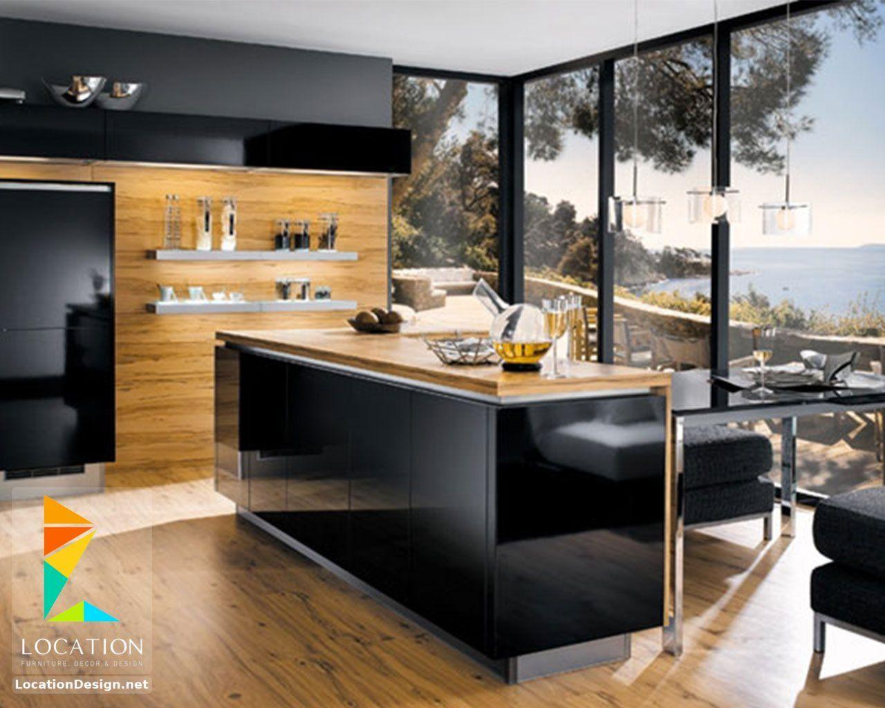 ديكورات مطابخ مودرن صغيرة 2019 2020 Modern Kitchen Island Modern Kitchen Island Design Best Kitchen Designs