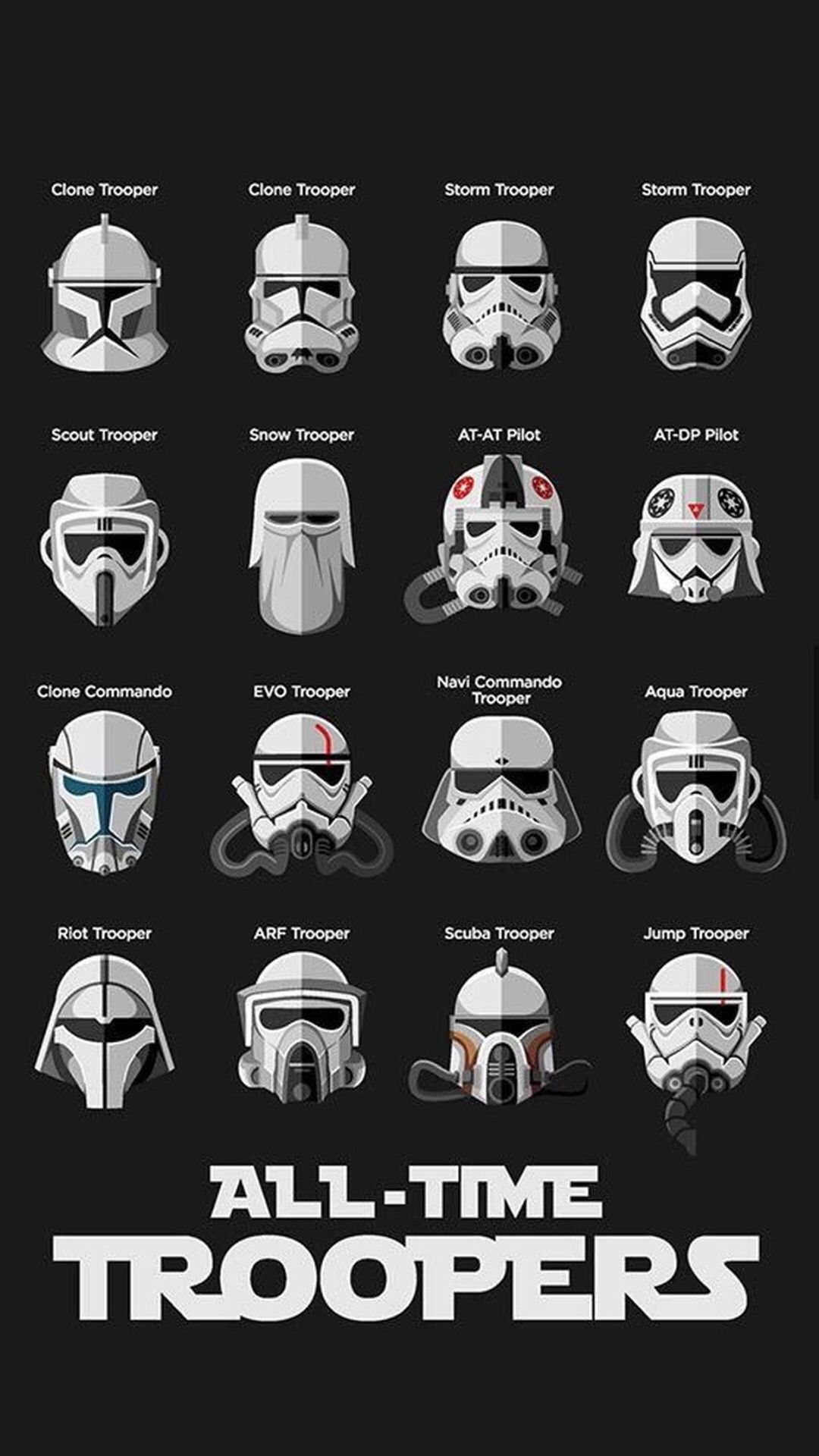 Star Wars Iphone Wallpaper Hd 84 Images Star Wars Helmet Star Wars Trooper Star Wars Clone Wars