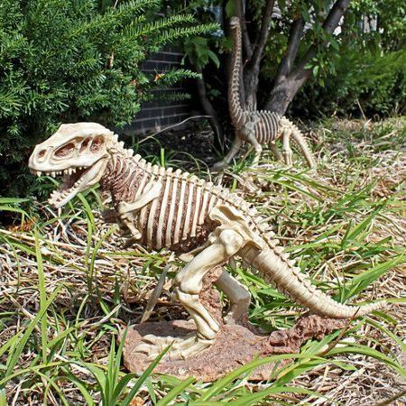 Design Toscano Bad To The Bone, Jurassic T Rex Raptor Dinosaur Statue