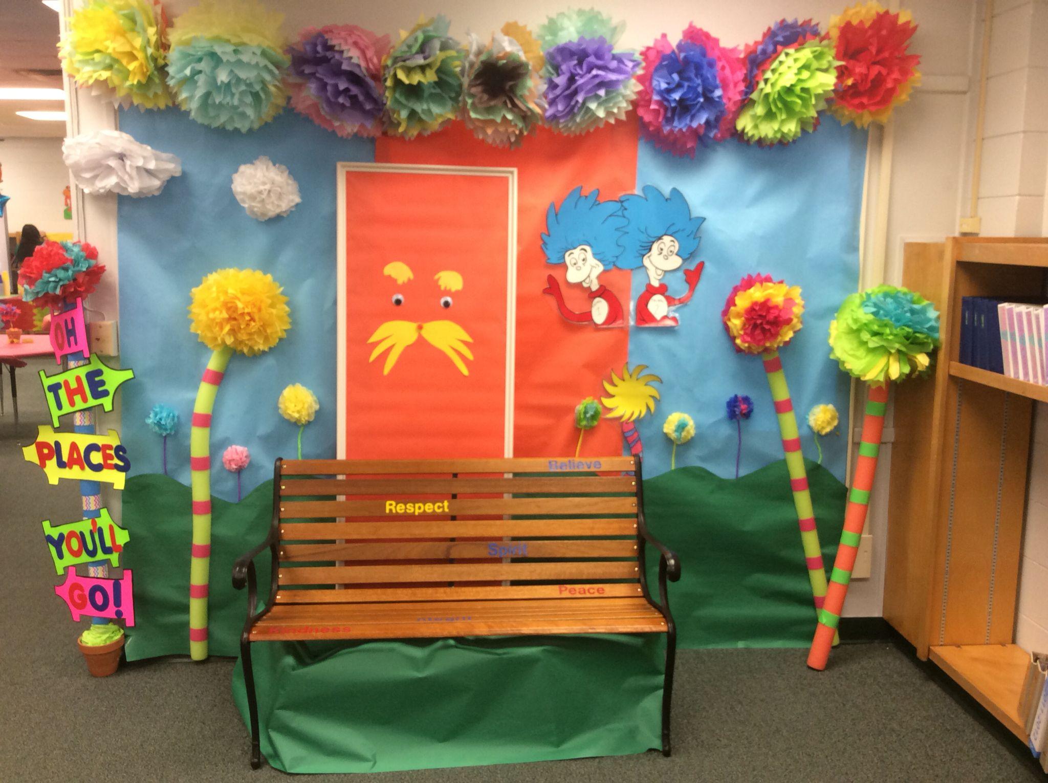 Lorax Dr Seuss Decoration Dr Seuss Decorations Dr Seuss Classroom Door Dr Seuss Classroom