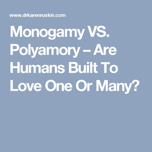 Dating vs monogami
