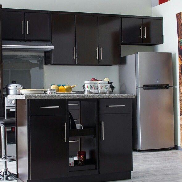 Cocinas y refrigeradores en muebles dico #mueblesdico   Amuebla tu ...