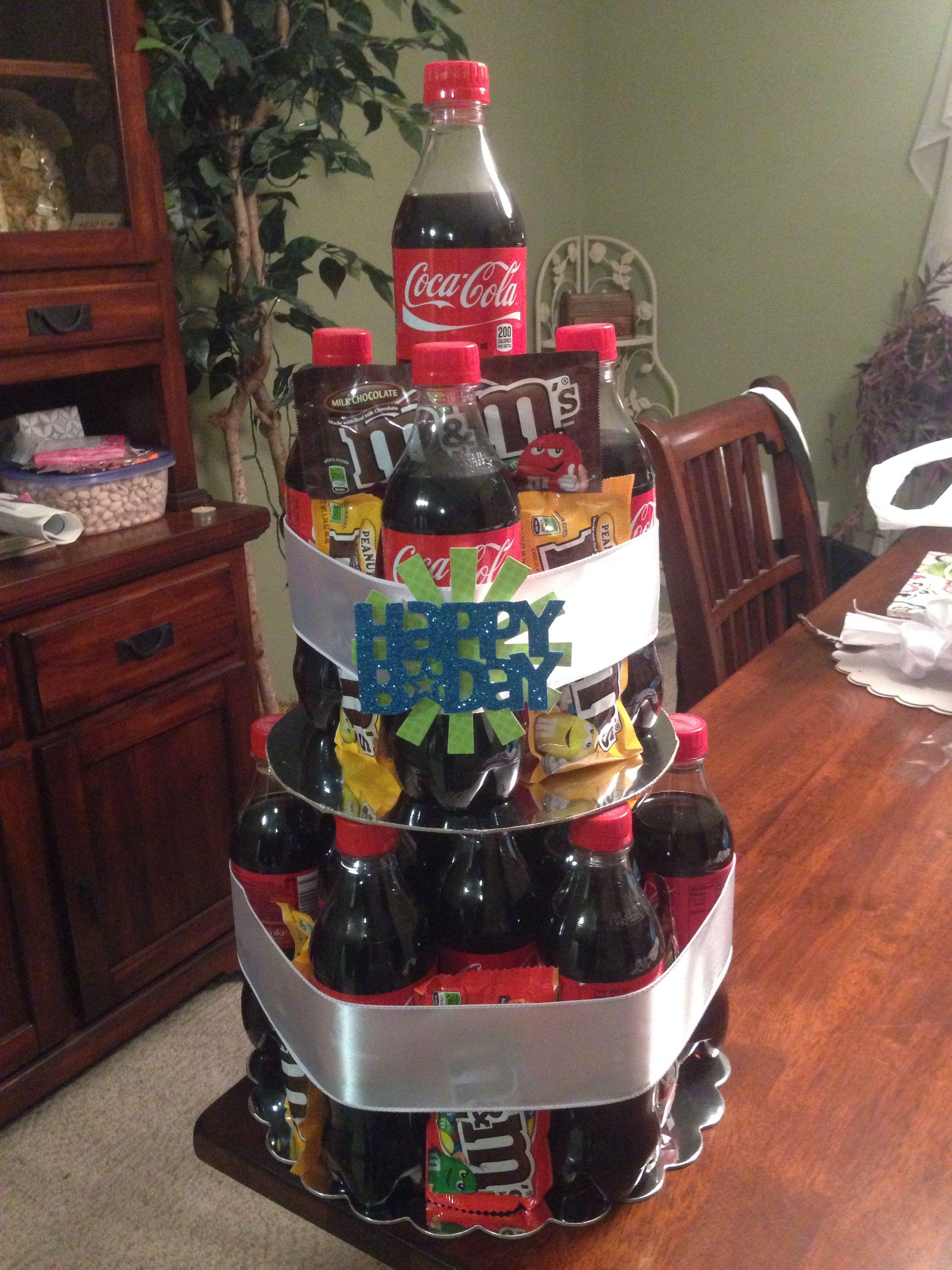 Coke Bottle Tiered Cake Gifts Coke Cake Bottle Cake