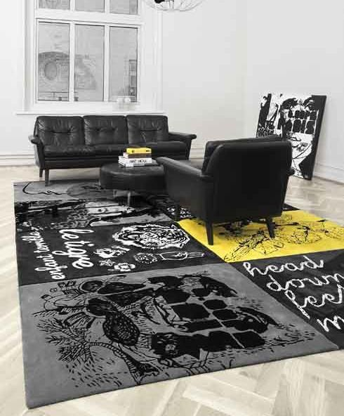 ♂ Masculine interior design living room with interior floor carpet