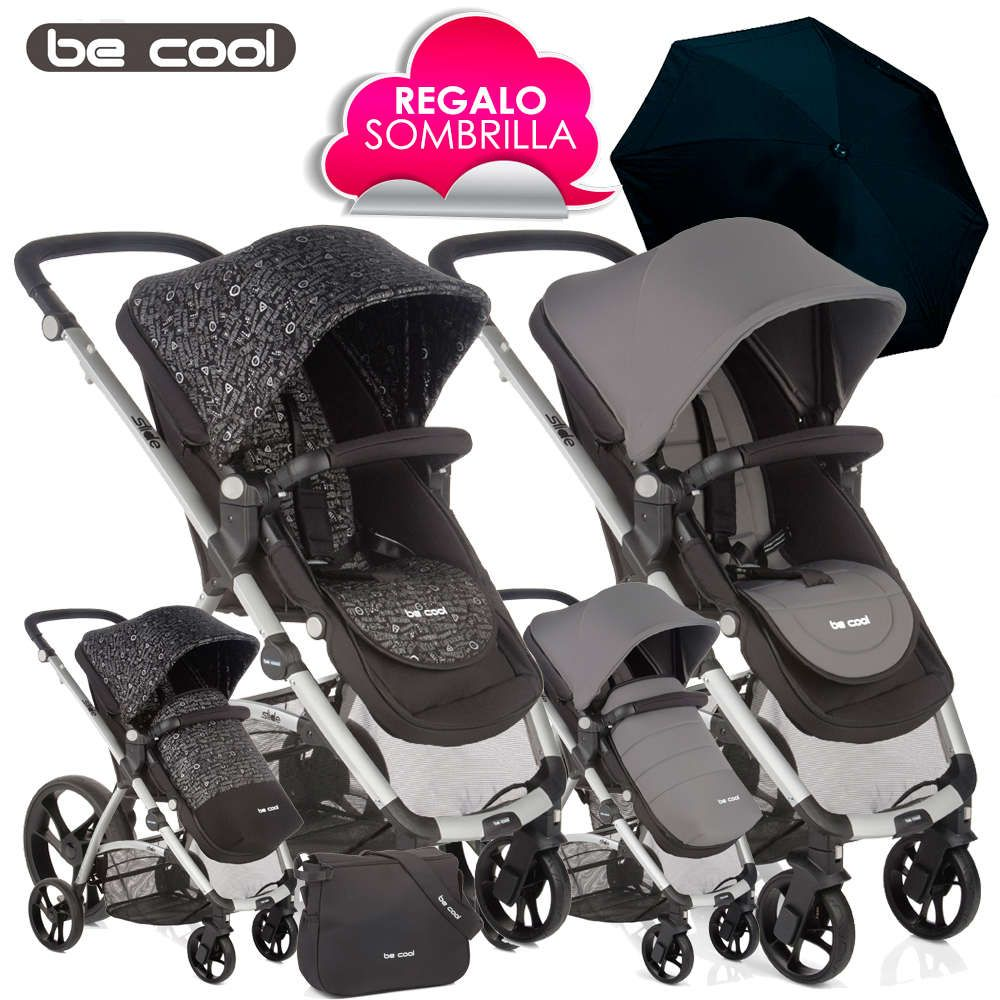 Silla de Paseo SLIDE de Be Cool TRAFFIC City vs Grey 2016