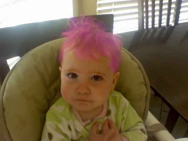 Pink Hair Dye. Safe for Kids! #kidsideas #kidhair #safeforkids ...