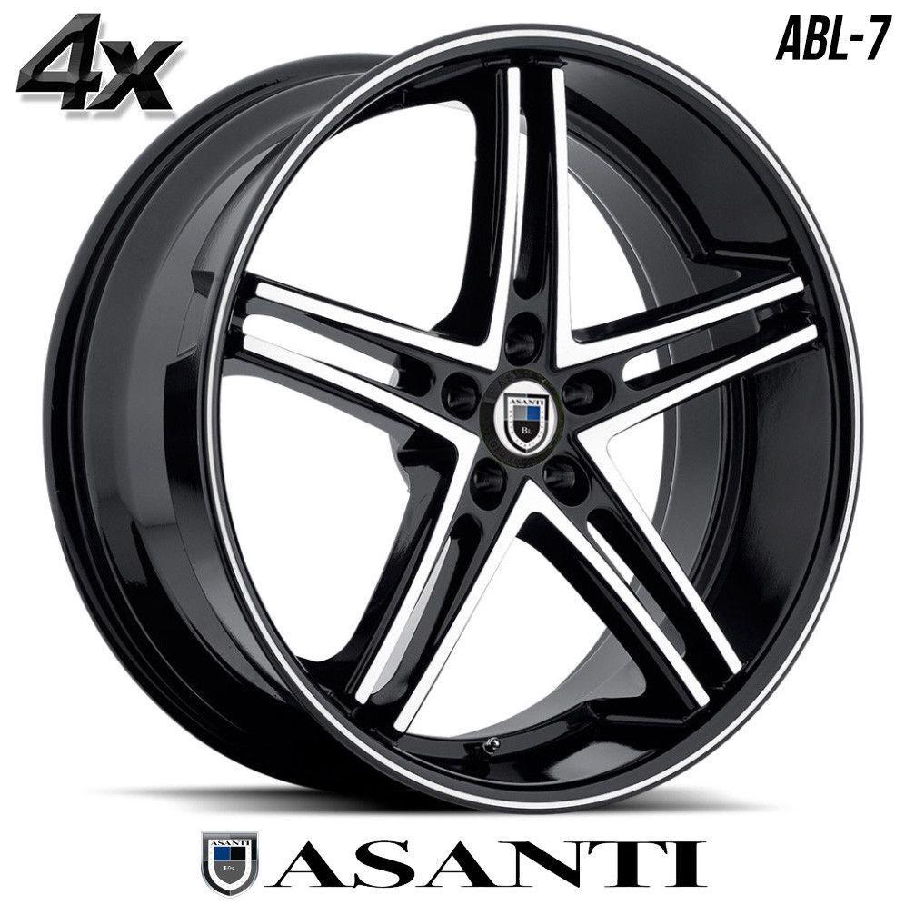 All Chevy chevy 22 inch rims : 4 Asanti ABL-7 22