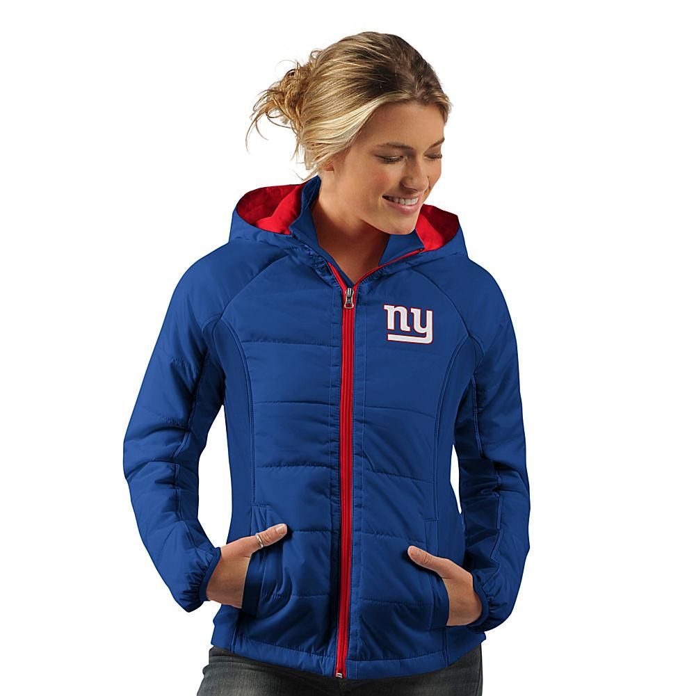 6d151920 Officially Licensed NFL Women's Rundown Polyfill Hooded Jacket by ...