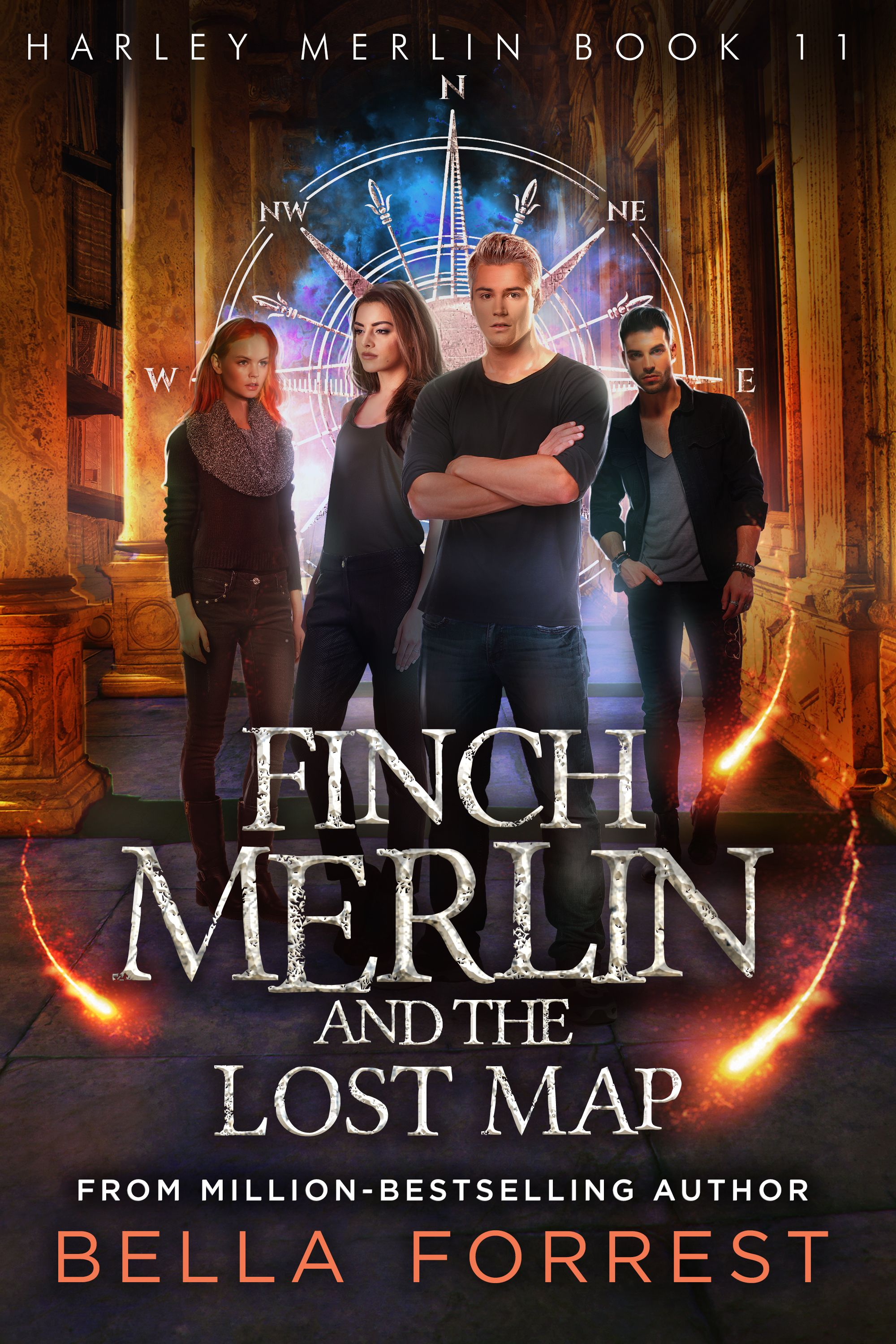 Harley Merlin 11 Finch Merlin And The Lost Map Releases August 28