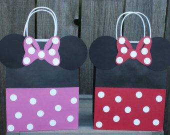 Minnie Mouse Goody Bags Treat By Beescutdesigns