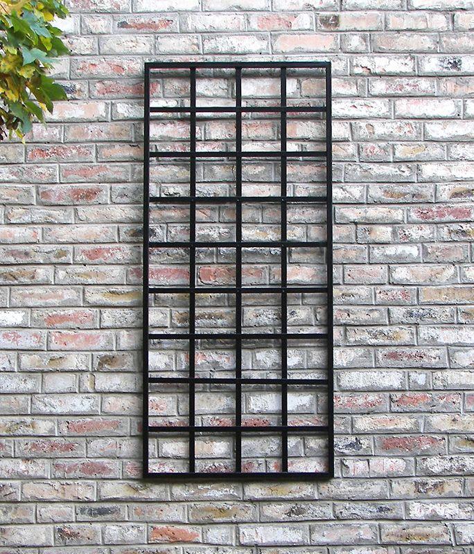 Small Modern Trellis - Trellises for Walls - www.classic-garden ...