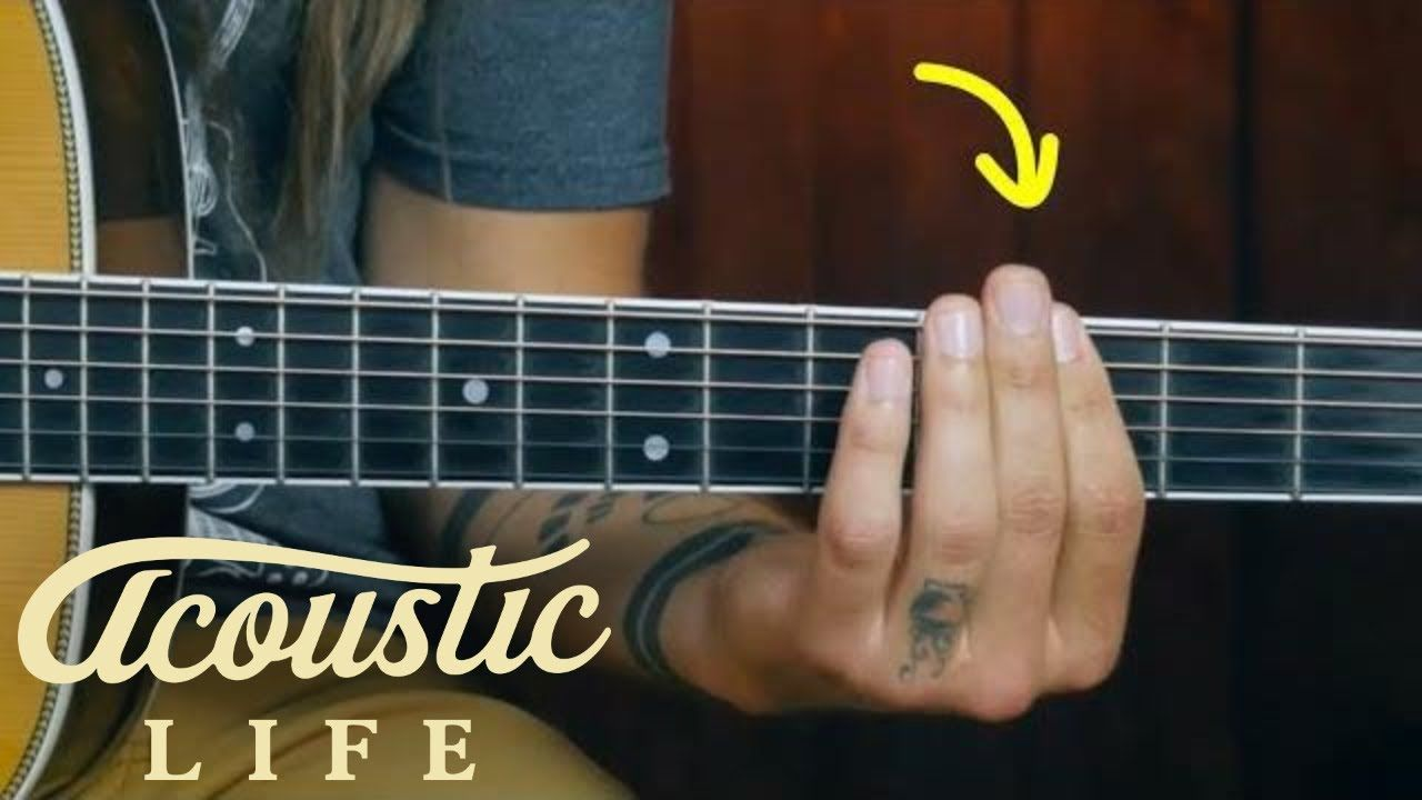 The Best Barre Chord Exercise For Beginners Youtube Acoustic Guitar Learn Guitar Acoustic Guitar Lessons